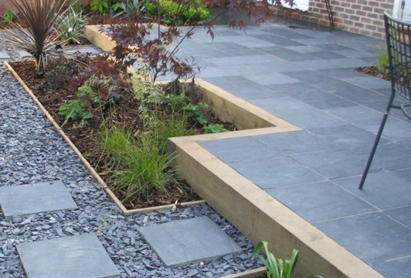 welsh slate paving flagstones eazyclad stone cladding
