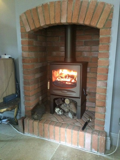 Brick Cladding For Fireplaces In Uk Eazyclad Stone Cladding