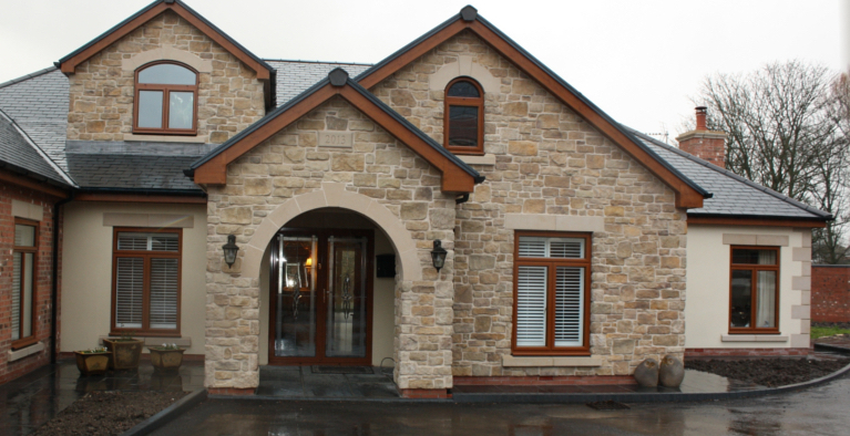Best 28 Sandstone Home Plan True Built Stone House Plans At Eplans Com Stone Homes Rustic
