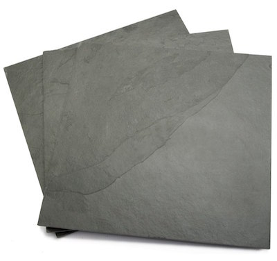 Grey Calibrated Slate Flooring Or Wall Tiles Eazyclad Stone Cladding